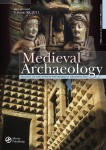The new cover for Medieval Archaeology