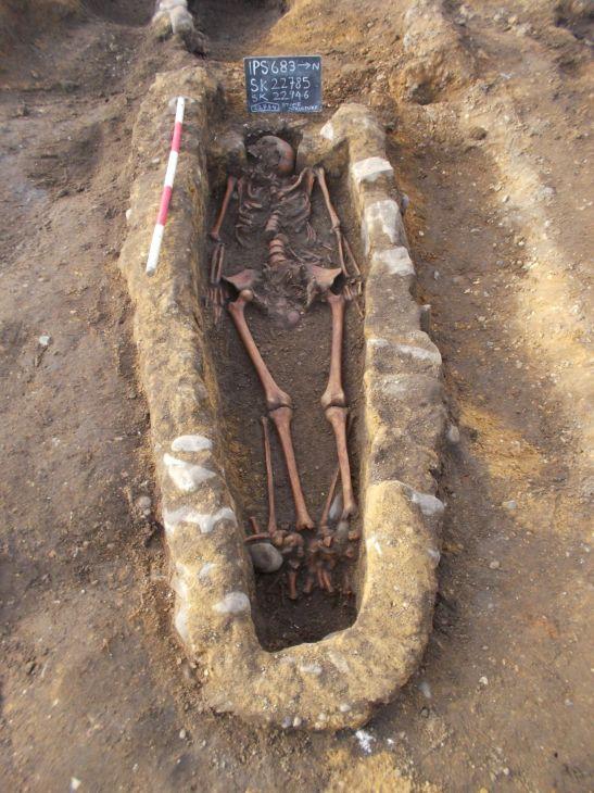 Stoke Quay burial