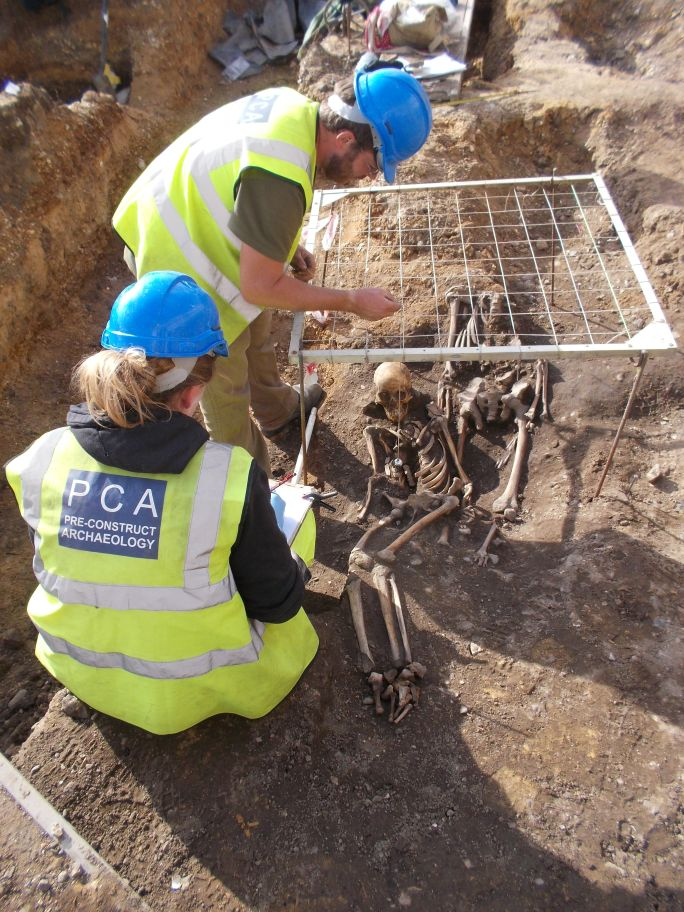 Stoke Quay excavation working shot