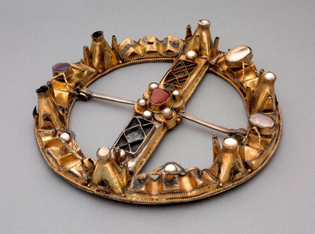 The Glenlyon brooch. Copyright The British Museum