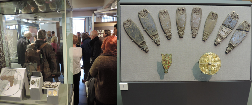 The major new exhibition brought together two of the most significant Viking collections, which SMA members at this exclusive event.