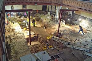 general view excavation